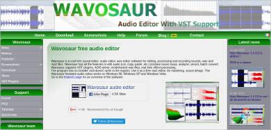 wavosaur for windows
