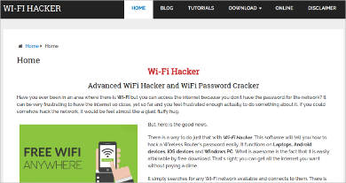wi fi hacker most popular software