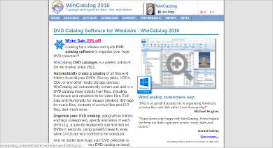 wincatalog for windows