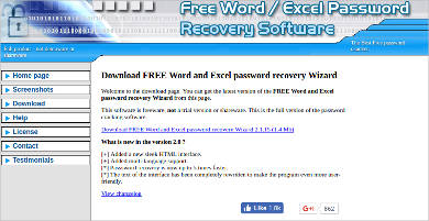 word and excel password recovery