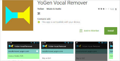 yogen vocal removerc for android