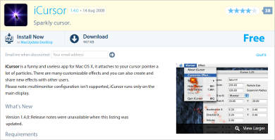 icursor for mac