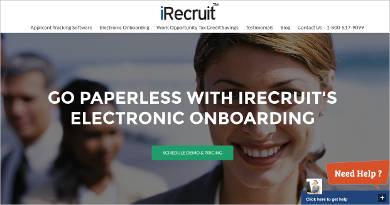 irecruit onboarding