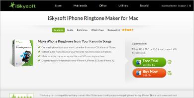 iskysoft ringtone maker