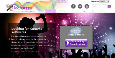 kjams karaoke software most popular software