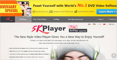 5kplayer most popular software1