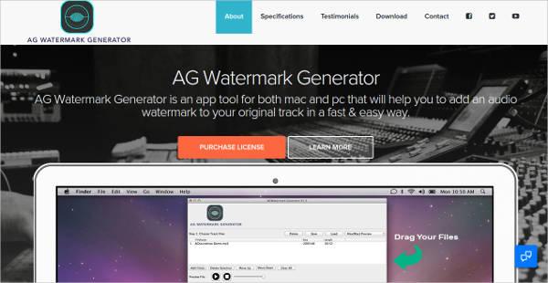 ag watermark generator for windows