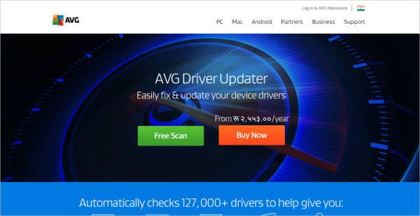 avg driver updater for mac