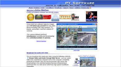 active webcam software
