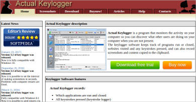 actual keylogger for mac