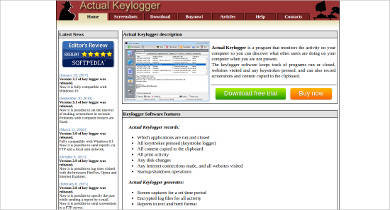 actual keylogger for windows