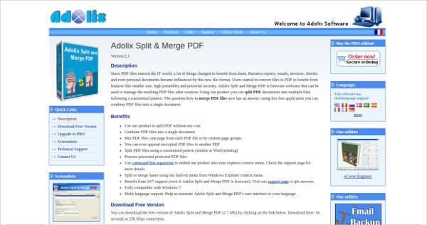 Adolix Split And Merge Pdf Pro