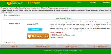 advanced keylogger for windows