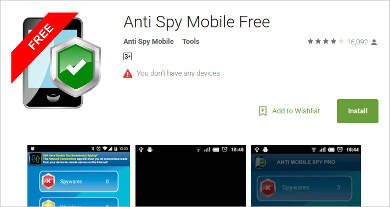 anti spy mobile free for android