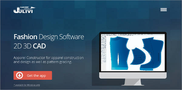 apparel constructor for windows