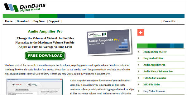 audio amplifier pro for windows