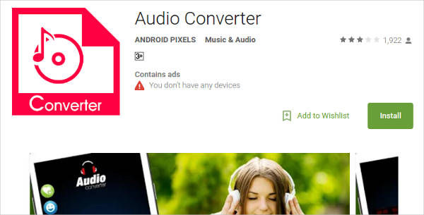 audio converter for android