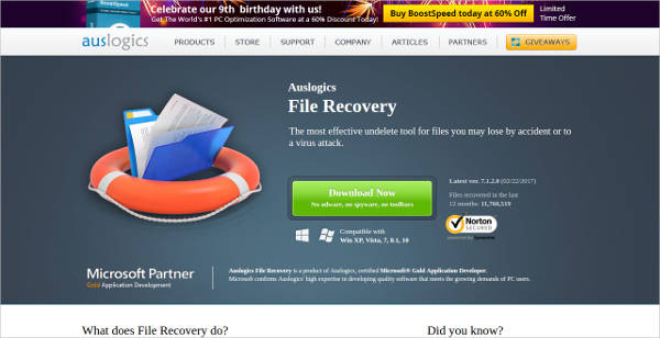 auslogicsfile recovery