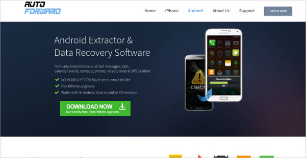 auto forward android extractor and data recovery software