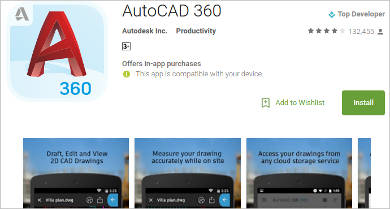 autocad 360 for android2