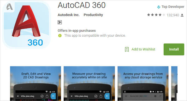 autocad 360 for android4