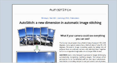 autostitch for mac