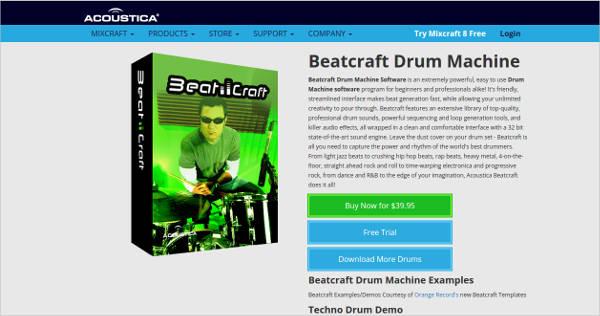 beatcraft drum machine software