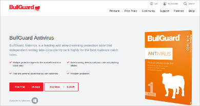 bullguard antivirus for windows