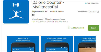calorie counter for android