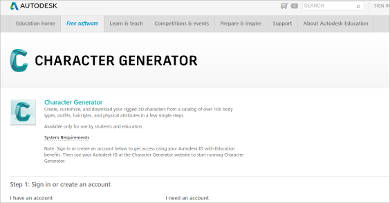 character generator most popular software