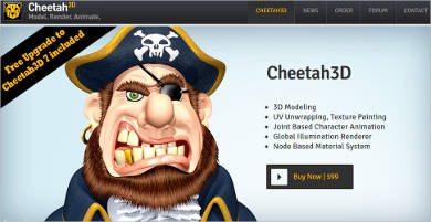 cheetah3d most popular software