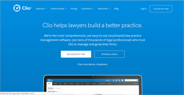 clio most popular software
