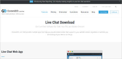 comm100 live chat for mac