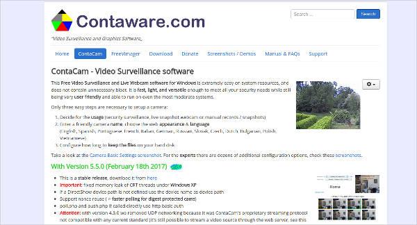 contaware contacam