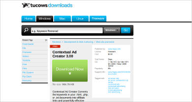 contextual ad creator most popular software