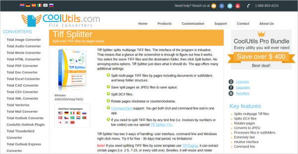 coolutlis tiff splitter