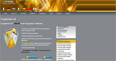 cryptainer le most popular software