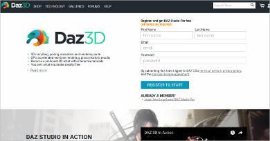 daz 3d for windows
