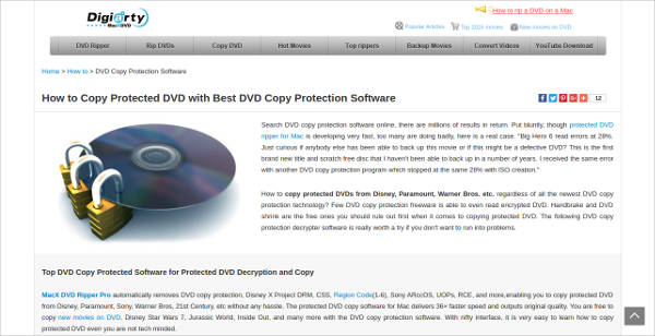 dvd copy protection software