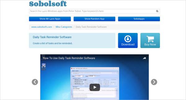 daily task reminder software1