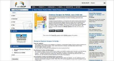 database designer for mysql