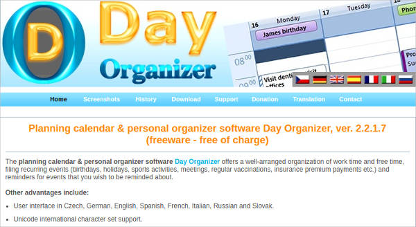day organizer3