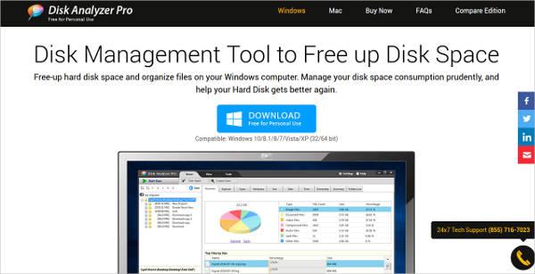 disk analyzer pro for windows