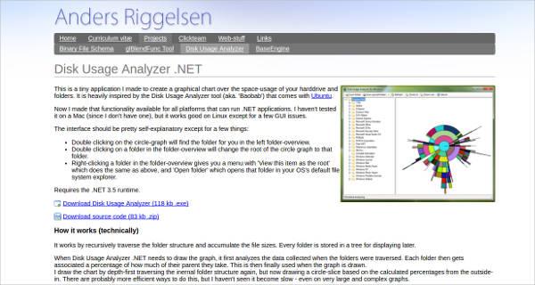 disk usage analyzer