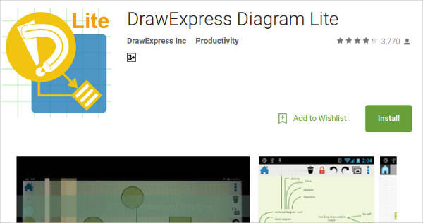 drawexpress diagram lite for android2