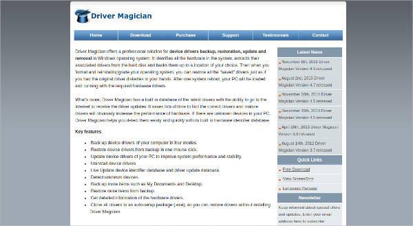 driver magician2