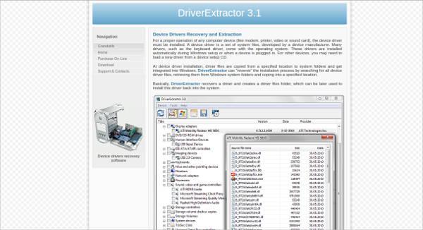 driverextractor