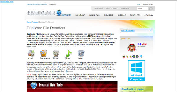duplicate file remover most popular software