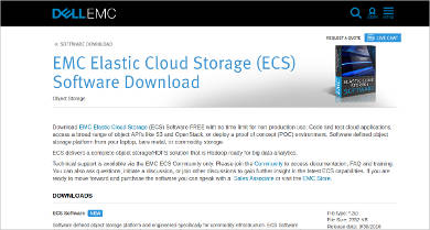 emc elastic cloud storage