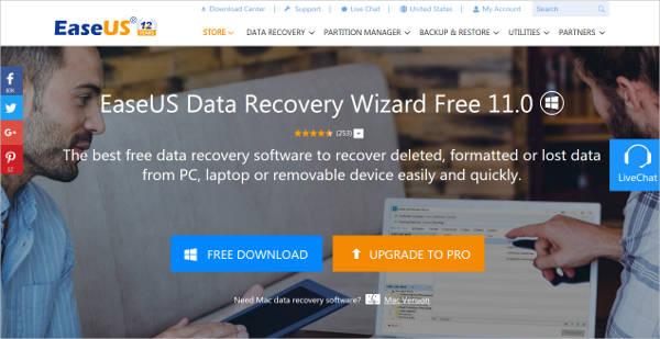 easeus data recovery wizard2